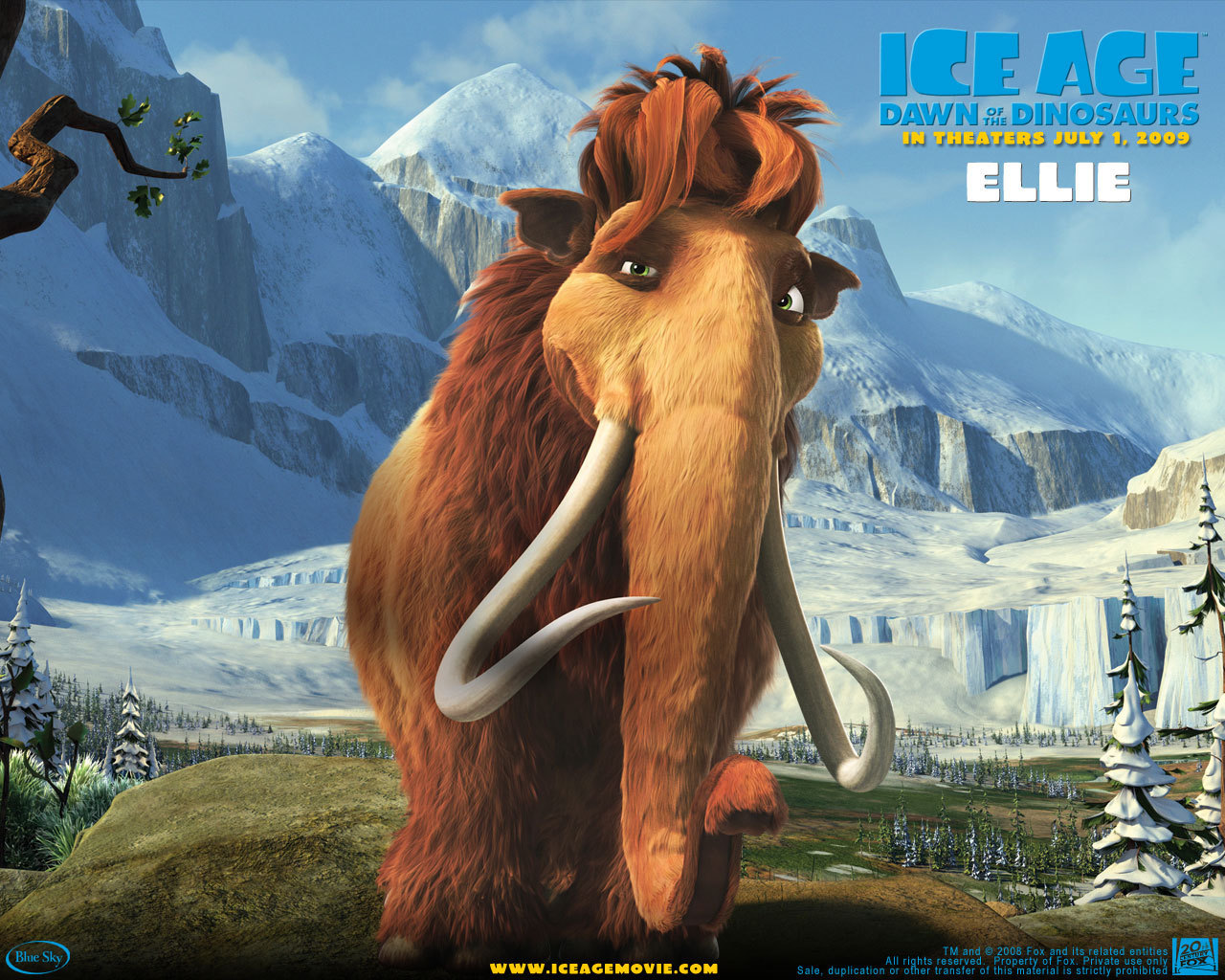 Ice Age 2 Movie Characters Movies Ice Age 3 Dawn of The
