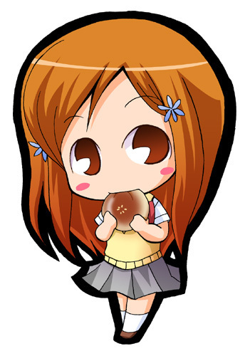 animê bleach wallpaper called Inoue Orihime chibi