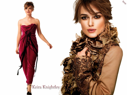 Keira Knightley wallpaper possibly containing a dinner dress titled Keira
