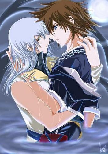 Kingdom Hearts Яой