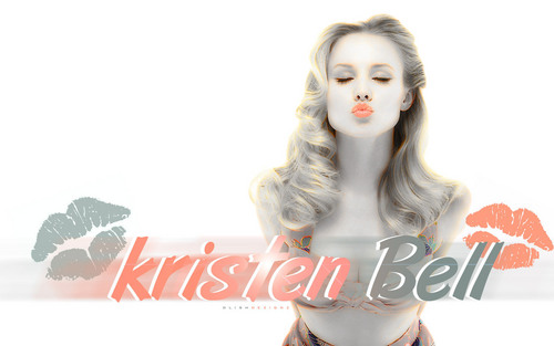 Kristen Bell wallpaper with a portrait called Kristen Bell