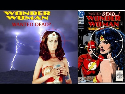 Wonder Woman karatasi la kupamba ukuta containing anime entitled Lynda Carter