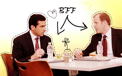 Michael and Toby