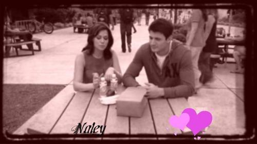 Naley wallpaper with a sign and a street titled NHxx