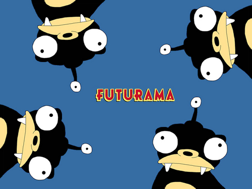Futurama wallpaper probably containing anime called Nibbler