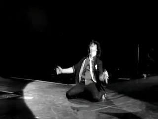 Nick on his knees