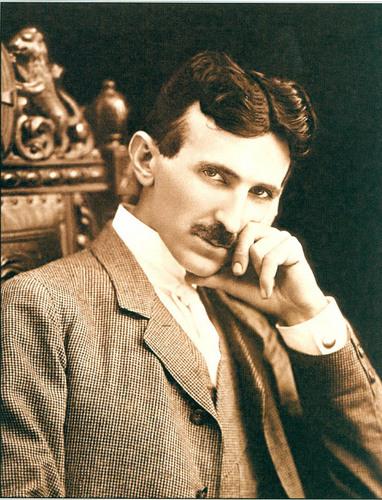 Nikola Tesla wallpaper containing a business suit and a suit titled Nikola Tesla