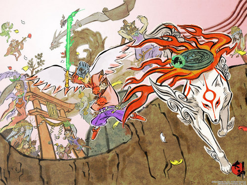 Okami's fondo de pantalla