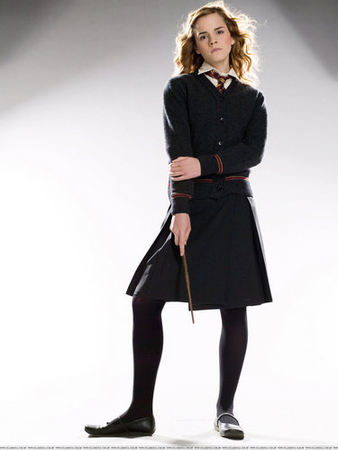 Hermione Granger wallpaper probably with a well dressed person, an overgarment, and a trench cappotto entitled Order of the Pheonix