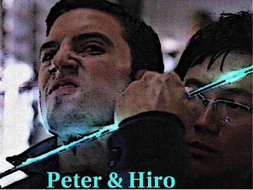 Peter & Hiro Blue Sword fond d'écran
