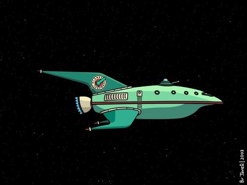 Planet Express Ship