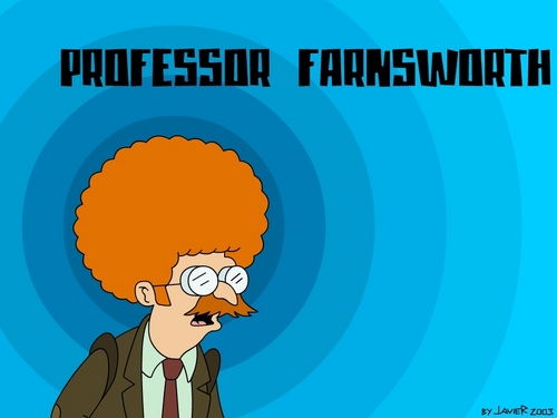 Futurama wallpaper containing anime entitled Professor Farnesworth