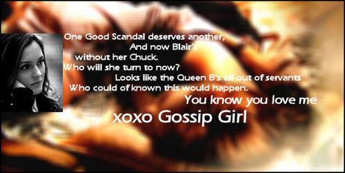 Quotes Gossip Girl might say about B/ C/B - blair-waldorf Fan Art