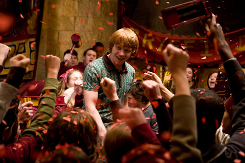 Ron in Gryffindor Party