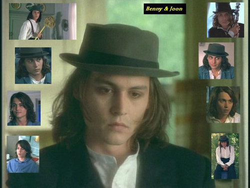 Benny and Joon wallpaper containing a fedora, a campaign hat, and a snap brim hat titled Sam