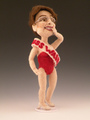 Sarah Palin Miss Wasilla Art Doll - sarah-palin fan art