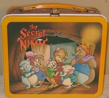 Secret of Nimh Lunch Box