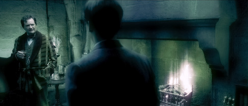 Slughorn and Young Tom Riddle