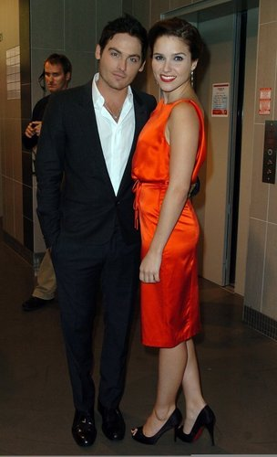 Sophia <3 with Kevin Zegers ;*