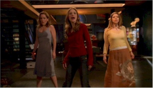 Tara, Anya, and Buffy