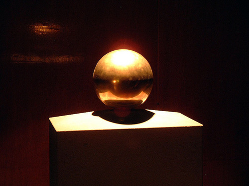Tesla's Golden Sphere