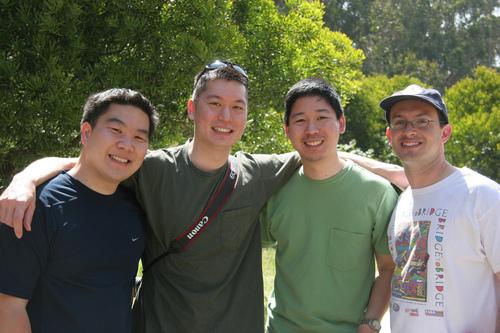The F4 team: site creators