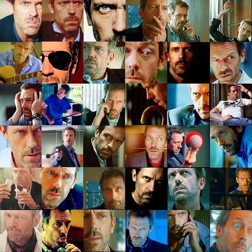 Dr. Gregory House wallpaper called The Many Faces of Greg House