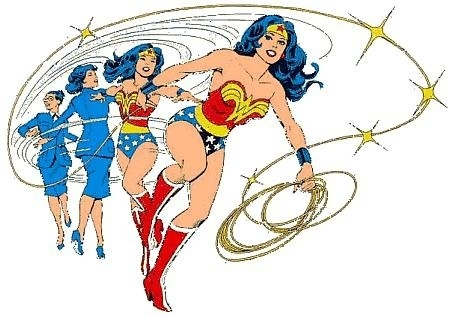 Triple Wonder Woman