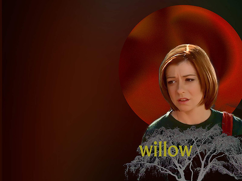 Buffy the Vampire Slayer wallpaper entitled Willow