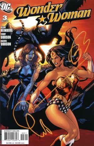 Wonder Woman wallpaper containing anime called Wonder Woman Comic Cover