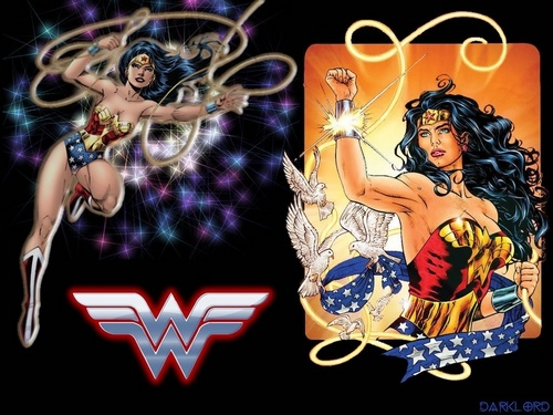 Wonder Woman karatasi la kupamba ukuta possibly containing anime called Wonder Woman
