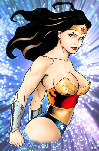 Wonder Woman achtergrond probably with anime called Wonder Woman