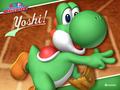 yoshi - Yoshi baseball wallpaper