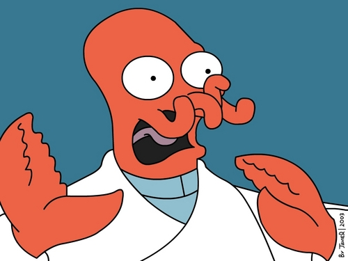Futurama wallpaper containing anime entitled Zoidberg