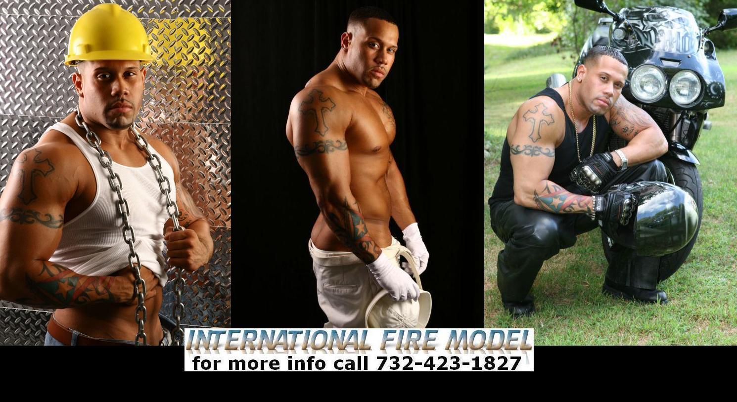 INTERNATIONAL FIRE MODELS international fire male model