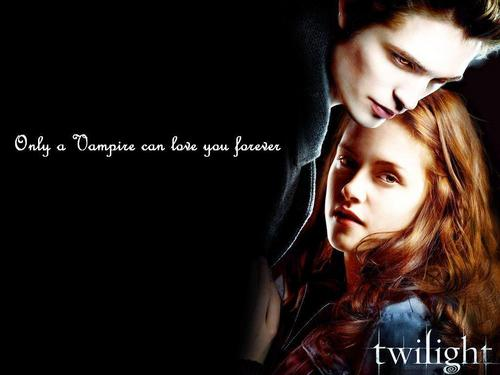 Twilight Movie wallpaper with a portrait called twilight-bella-edward