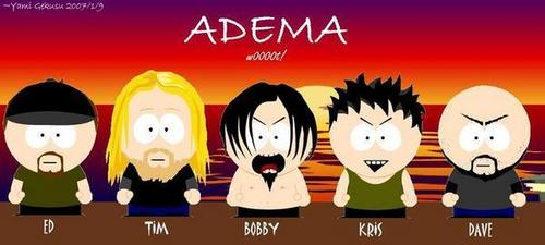 Adema as South Park