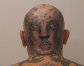 Alien head - tattoos photo