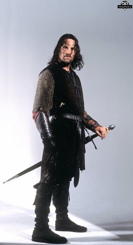 Aragorn Hintergrund possibly containing a rifleman, a surcoat, and a navy dichtung titled Aragorn