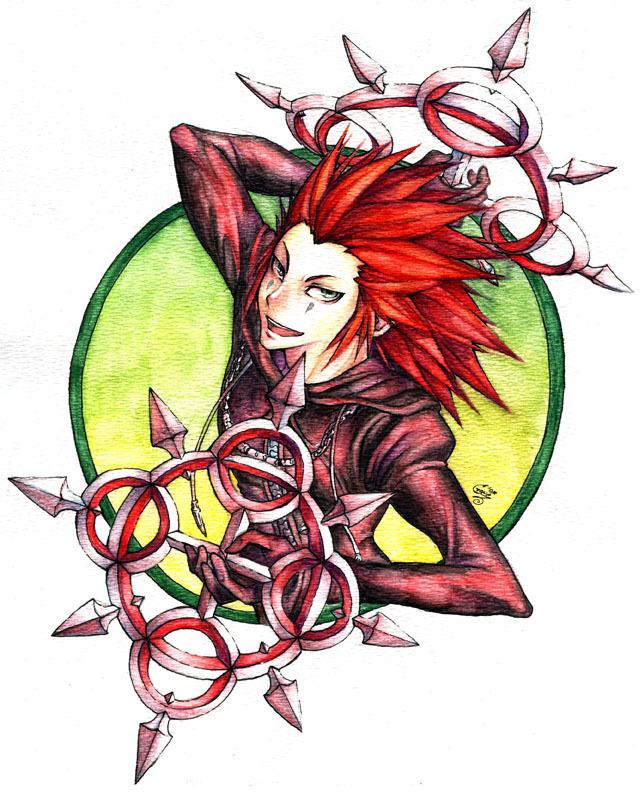 Axel - Kingdom Hearts Photo (35951920) - Fanpop