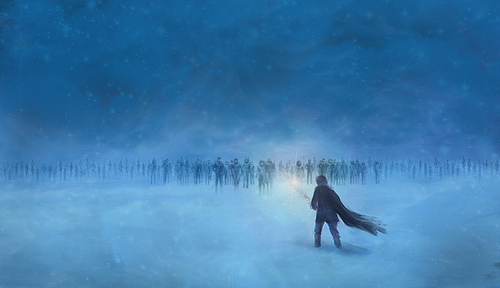 A Song of Ice and Fire wallpaper titled Azor Ahai