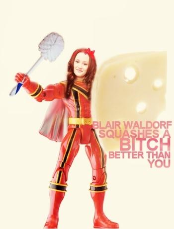 Blair Ranger To The Rescue!