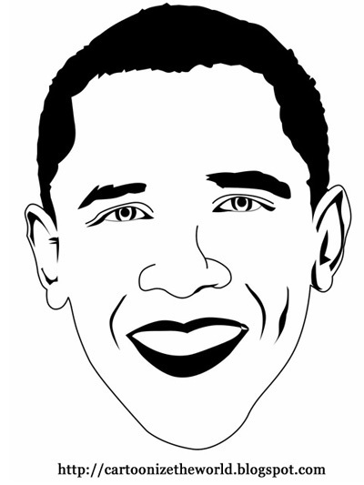 Cartoonized Obama - Barack Obama Fan Art (3450150) - Fanpop