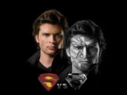 Clark and Bizarro