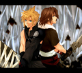 Cloud and Leon - the-boys-of-kingdom-hearts photo