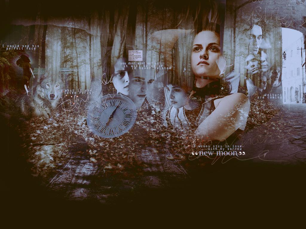 Edward & Bella [New Moon] karatasi la kupamba ukuta