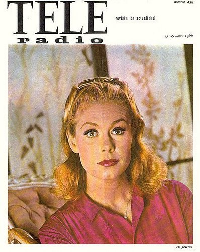 Elizabeth Montgomery Magazine Cover