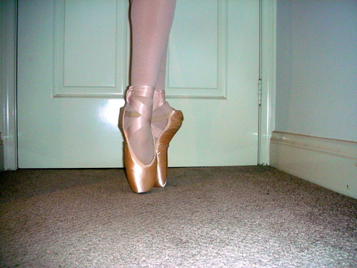 Ella on Pointe :)