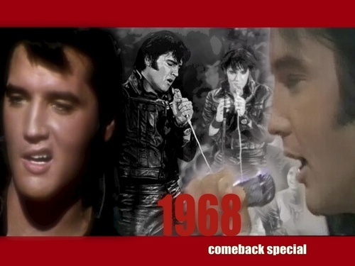 elvis presley wallpaper with animê titled Elvis: The '68 Comeback Special