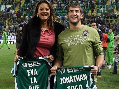 Eva La Rue and Jon